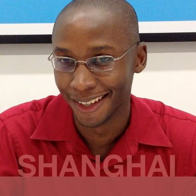 SHANGHAI: Eric from Trinidad and Tobago.