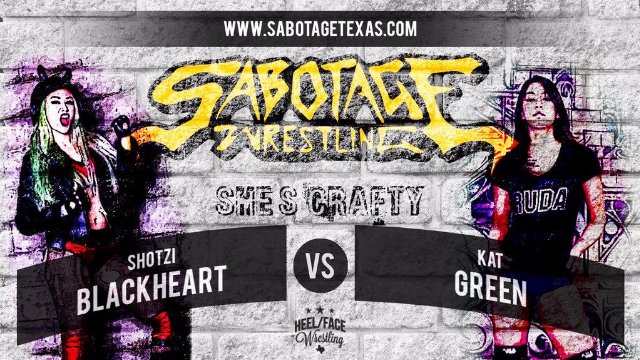 Sabotage Wrestling: Shotzi Blackheart vs Kat Green