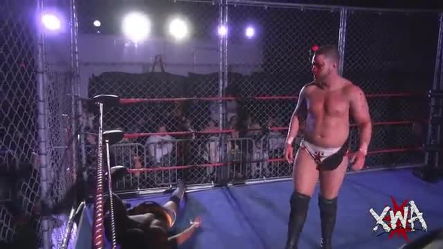 Main Event - Cage Match - Julian Starr vs Antonio Atama