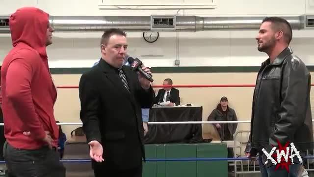 Bobby Cruise & ROH members in ring segment