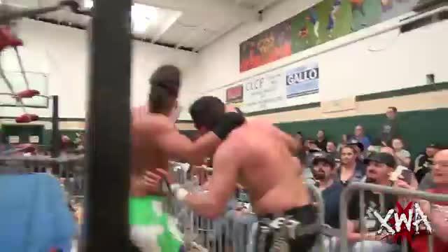 Kingdom members Mike Bennett & Matt Taven vs Jason Blade & Tommaso Ciampa