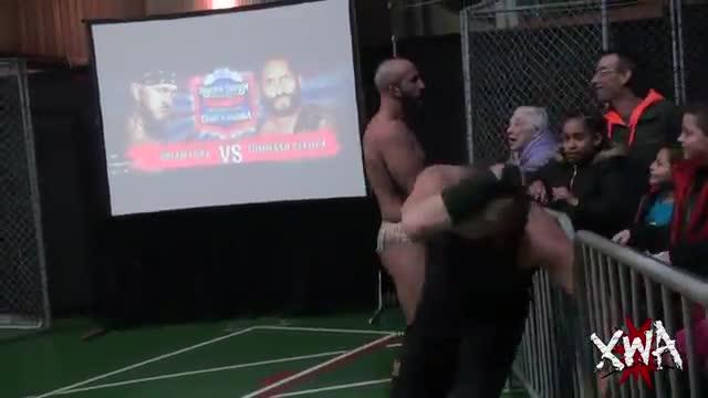 Brian Fury vs Tommaso Ciampa XWA Championship