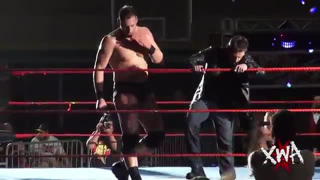 Dijak vs 2Buff, RudeBoy Riley and Michael Elgin