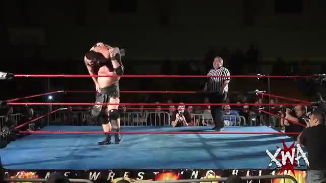 XWA vs ROH Warbeard Hanson vs Antonio Atama XWA Championship