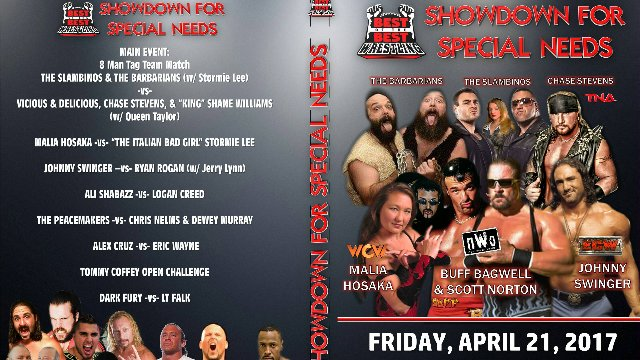 "Wrestletopia Presents ""Showdown for Special Needs"""