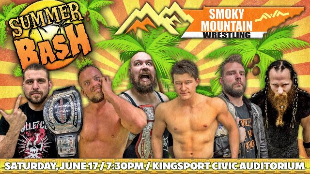 NWA Smoky Mountain Summer Bash 2017