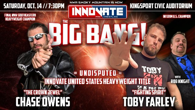 Innovate Wrestling - The Big Bang