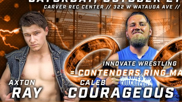 Shocktober - Axton Ray vs. Caleb Courageous