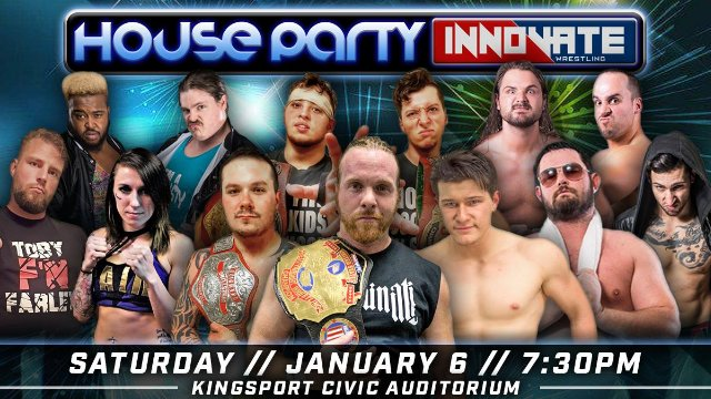 Innovate Wrestling - House Party 2018