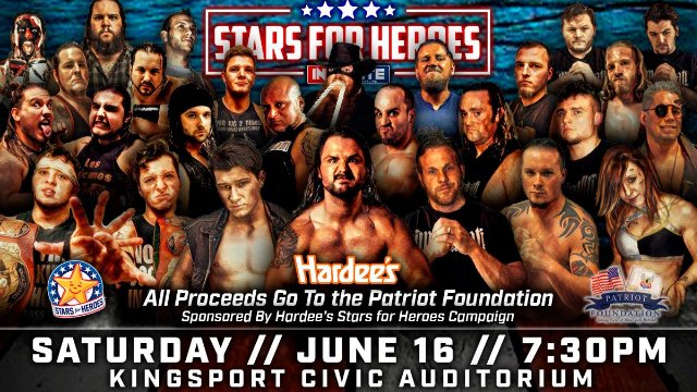 Innovate Wrestling - Stars for Heroes
