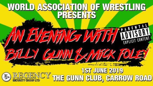An Evening with Billy Gunn & Mick Foley