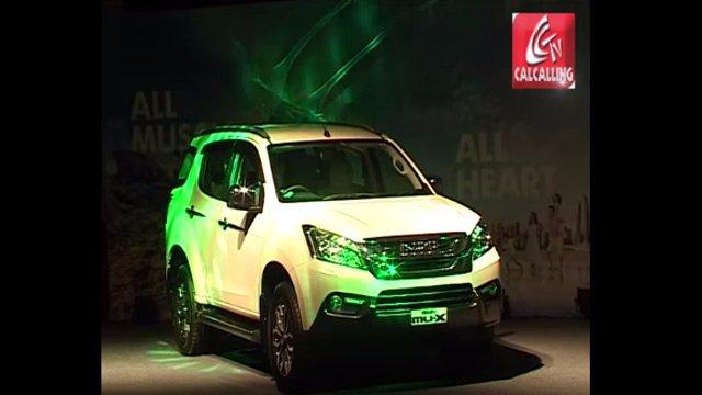 ISUZU launches the 'mu-X' premium full-size 7 seater SUV in India