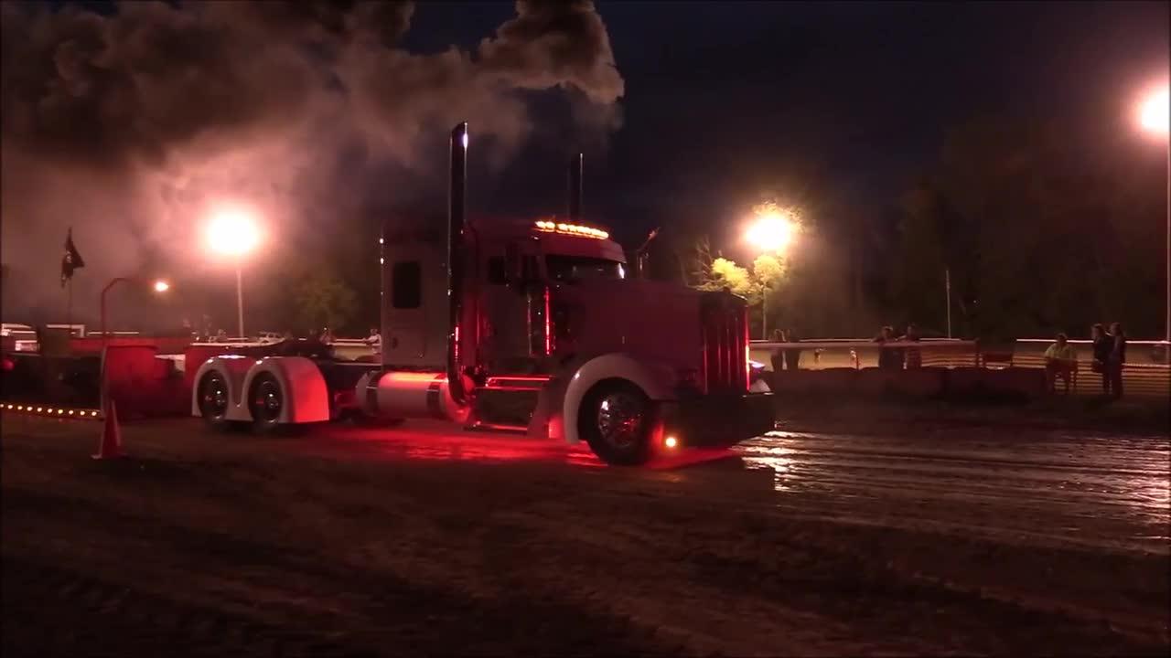 Hot Semi Trucks-TTPA Pulls-Carsonville 2018