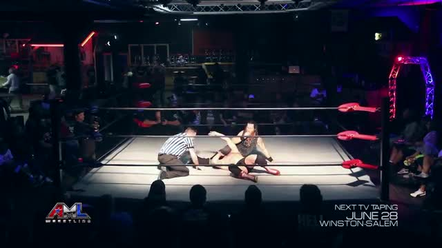 AML Wrestling LIVE! Episode 14 - Jason Kindcaid vs Cauliflower Brown