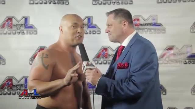 AML Wrestling LIVE! Episode 28 - Vordell Walker vs Shane Williams
