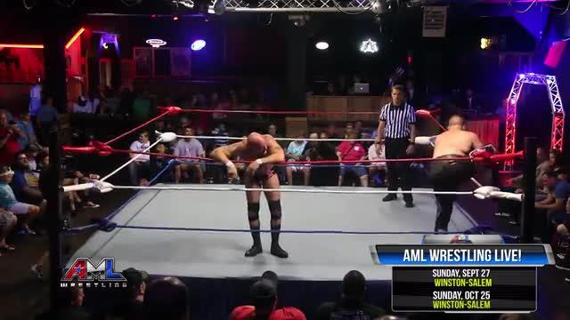 AML Wrestling LIVE! Episode 29 - Damien Wayne vs Chance Prophet