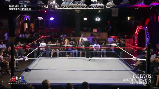AML Wrestling LIVE! Episode 30 - Caprice Coleman vs Jason Kincaid