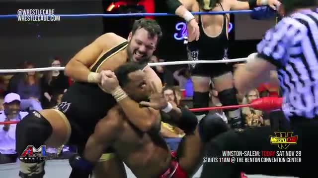 AML Wrestling LIVE! Episode 39 - Washington Bullets vs Empire