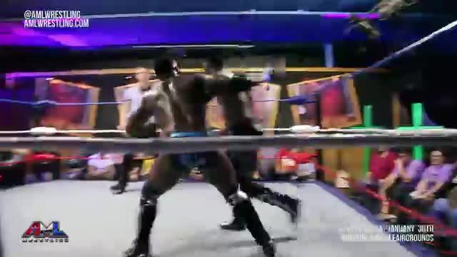 AML Wrestling/Ep 40/ Cedric Alexander vs Caprice Coleman 3