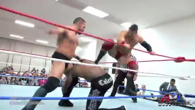 AML Wrestling LIVE! Episode 44 (Caprice Coleman vs ECIII vs Papadon)