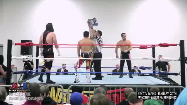 AML Wrestling LIVE! Episode 45 (Heatseekers vs Matt Lancie & Bu Ku Dao)