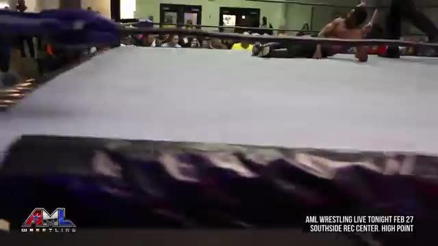 AML Wrestling LIVE! Episode 51 (Caprice Coleman vs Vordell Walker)