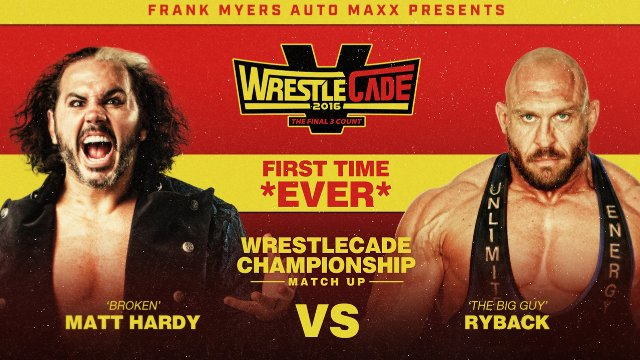 Wrestlecade V (Broken Matt Hardy vs Ryback | Drew Galloway vs. PJ Black)