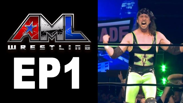 AML Wrestling LIVE! Episode 1 - Matt Hardy vs Sean Waltman vs Zane Dawson