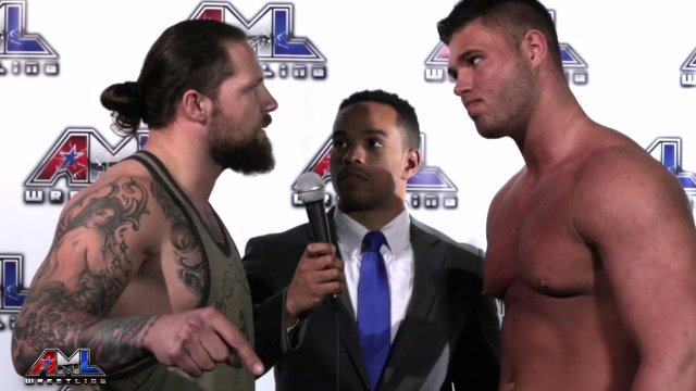 AML Wrestling LIVE! Episode 8 - Brady Pierce vs Jaxson James