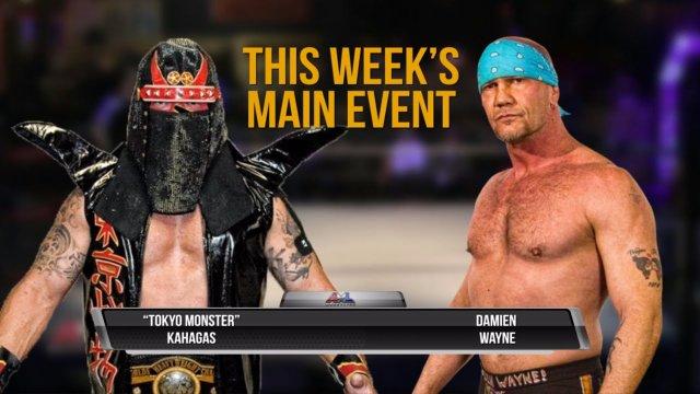 AML Wrestling LIVE! Episode 9 - Damien Wayne vs Kahagas