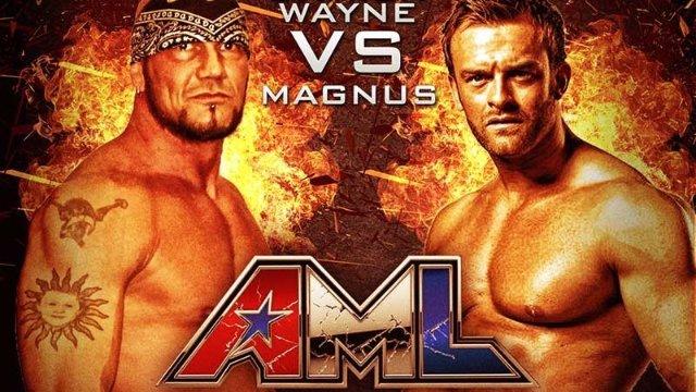 AML Wrestling LIVE! Episode 10 - Magnus vs Damien Wayne