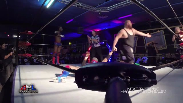 AML Wrestling LIVE! Episode 11 - The Hooligans vs Washington Bullets