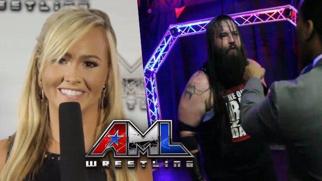 AML Wrestling LIVE! Episode 17 - Zane Dawson vs Cauliflower Brown