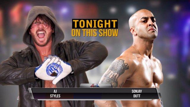 AML Wrestling LIVE! Episode 19 - AJ Styles vs Sonjay Dutt