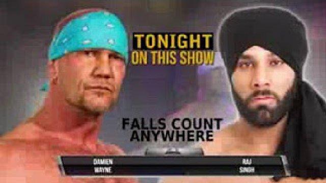 AML Wrestling LIVE! Episode 20 - Jinder Mahal vs Damien Wayne