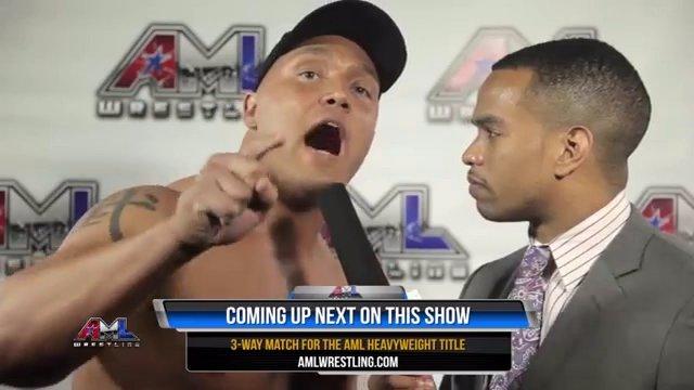AML Wrestling LIVE! Episode 23 - Caprice Coleman vs Vordell Walker vs King Shane