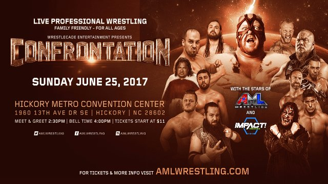 AML Wrestling - Confrontation 6.25.17 (Abyss vs Zane Dawson, Super Crazy vs Suicide)
