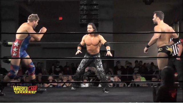 WrestleCade SuperShow 2017 - Eli Drake vs Johnny Impact vs Jack Swagger - Impact Wrestling Championship
