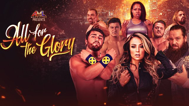 AML Wrestling - All For The Glory 2.25.18 (Tenille Dashwood (fka Emma) vs Savannah Evans)