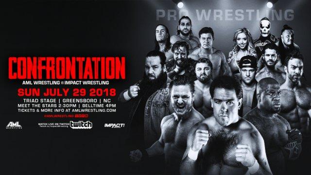 AML vs Impact Wrestling - Confrontation 7.29.18 (Matt Sydal vs Caleb Konley, Tessa Blanchard vs Allie vs Kris Stadtlander)