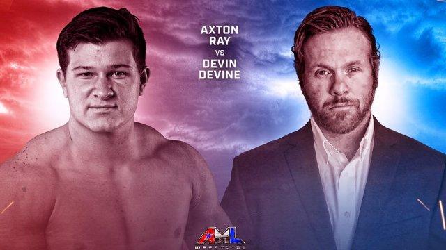 AML Wrestling - Devin Devine vs Axton Ray