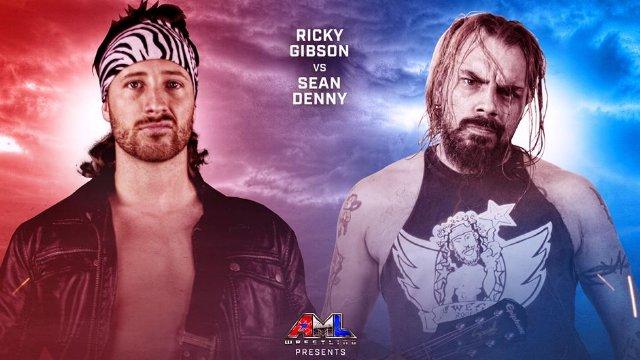AML Wrestling - Sean Denny vs Ricky Gibson