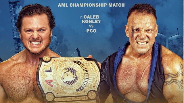 AML Wrestling - PCO vs Caleb Konley