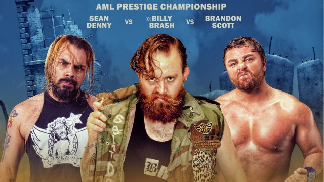 AML Wrestling - Billy Brash vs Sean Denny vs Brandon Scott
