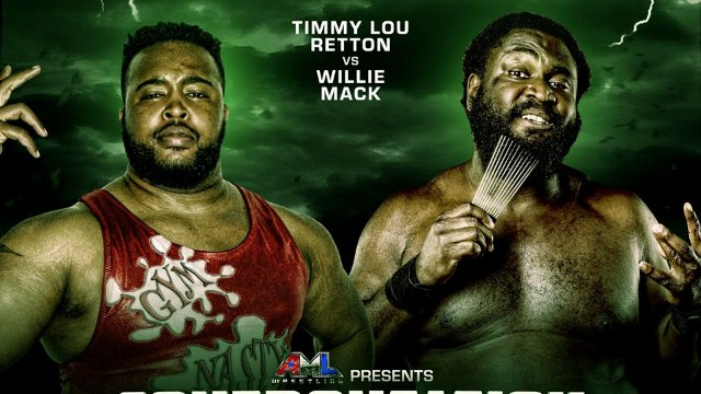 AML Confrontation: Willie Mack VS Timmy Lou Retton