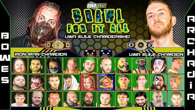 UWA Elite S7_E12: Brawl For it All 2017