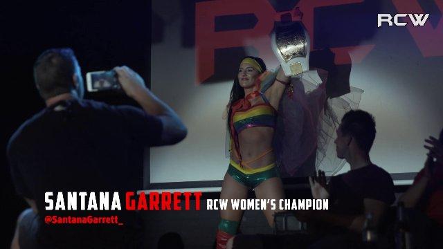 RCW Women's Champion Santana Garrett vs. Leah Owens
