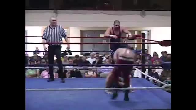 Retro WLW-TV Tag-Team Match - Go Shiozaki & Superstar Steve vs. Steve Anthony & Marc Godeker