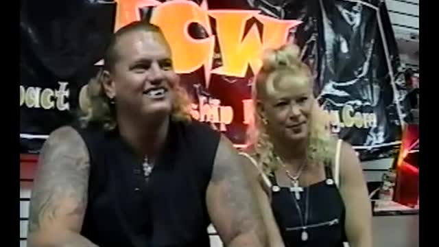 Luna Vachon & Gangrel Shoot Interview