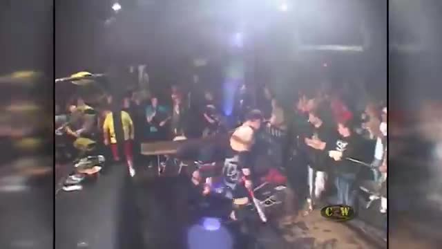FANS BRING THE WEAPONS MATCH: Jon Moxley & H8 Club VS Naptown Dragons